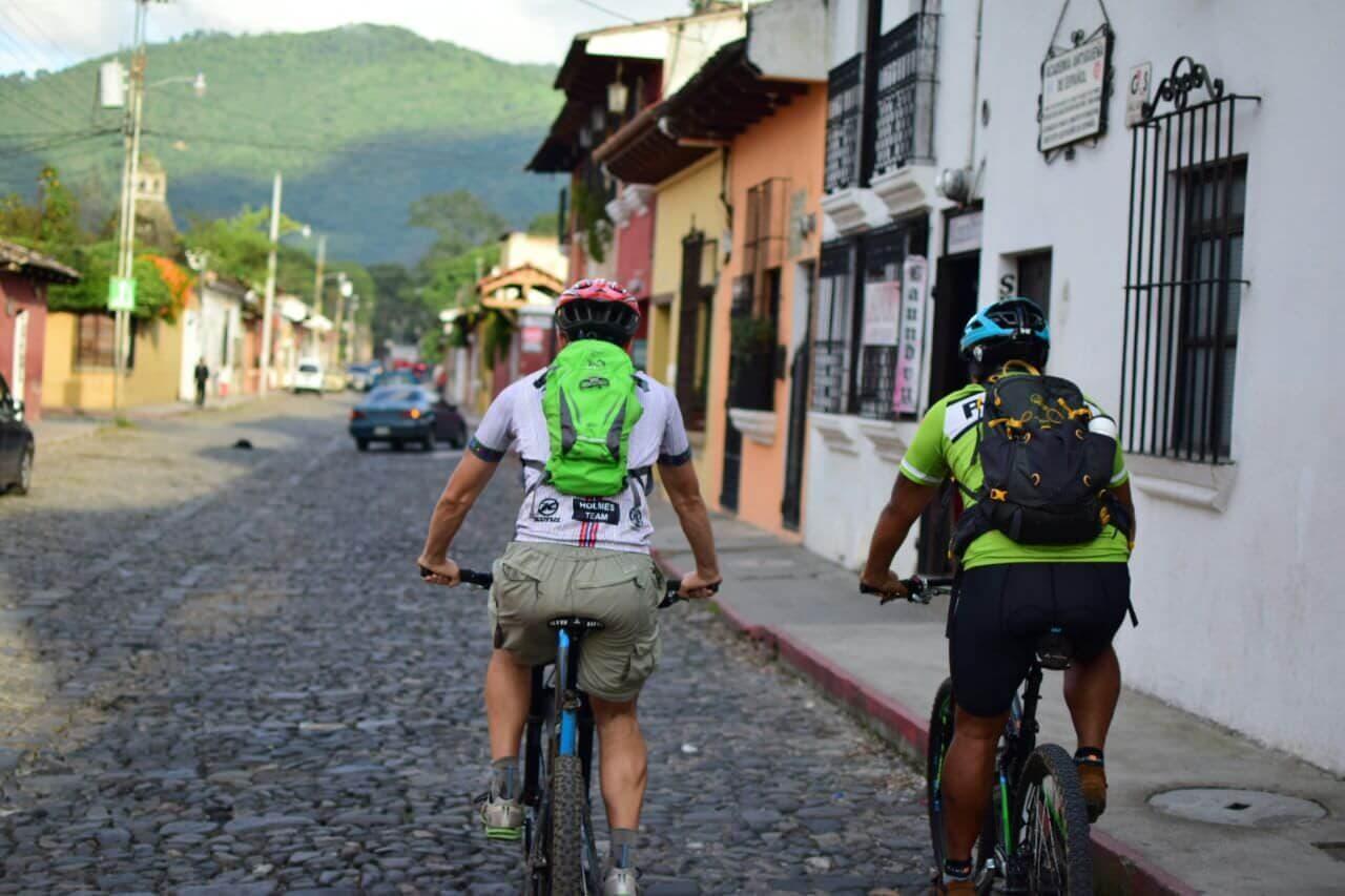 Valley ride antigua cobblestone streets