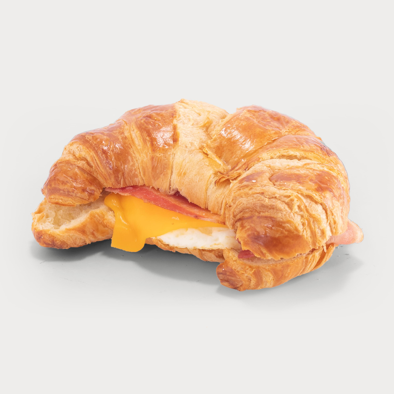 Pastry bacon egg sandwich thumb