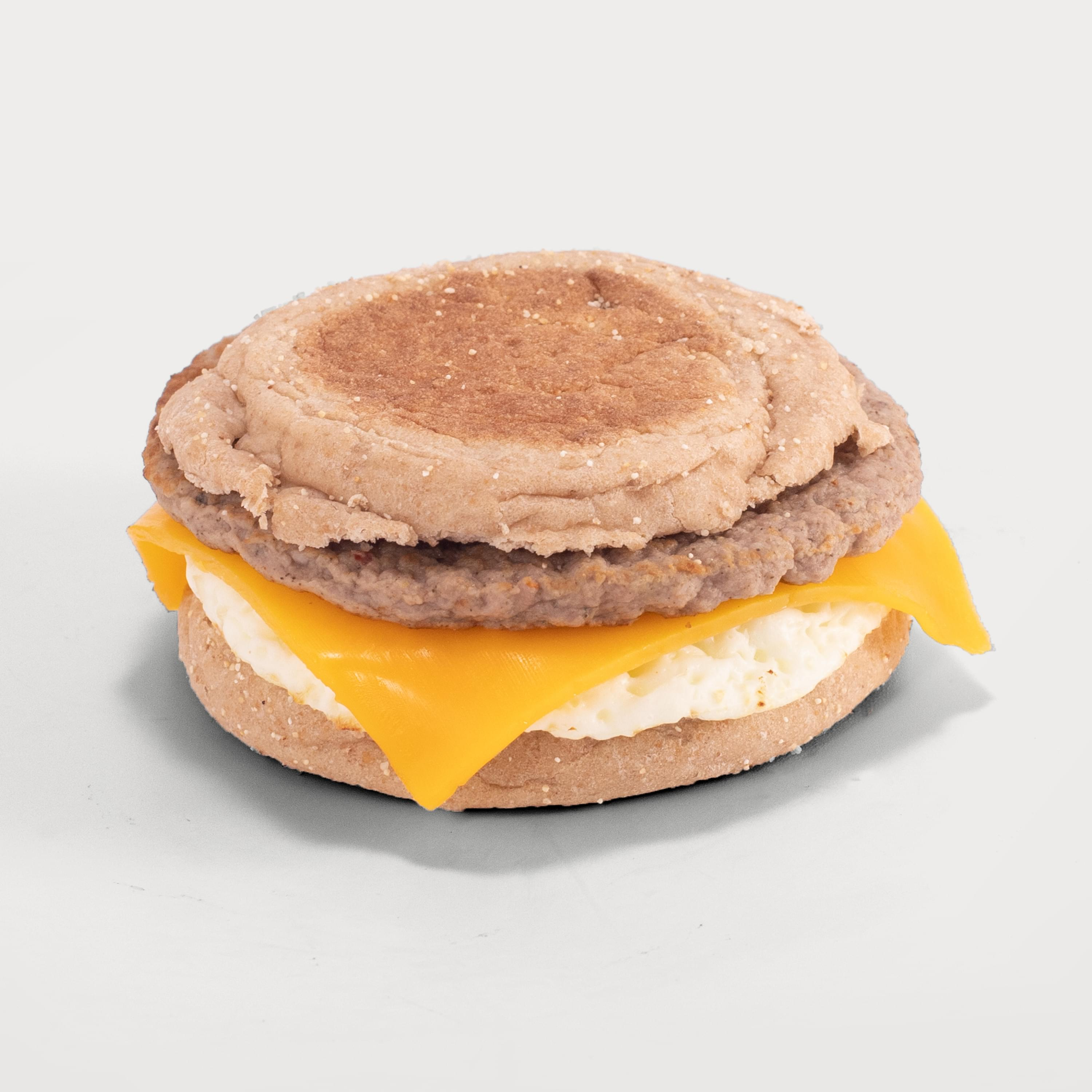 Pastry sausage sandwich thumb