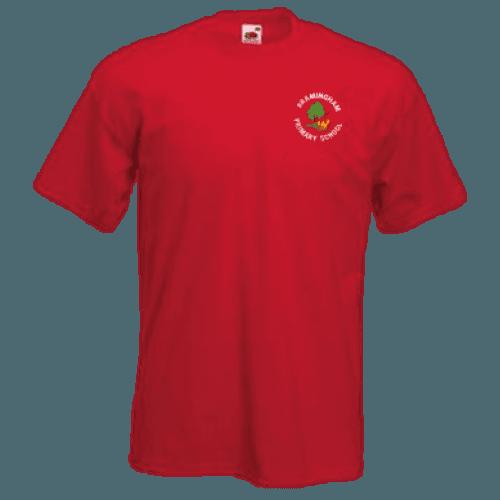 Red PE T-Shirt