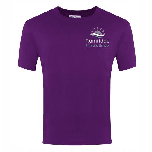 Purple PE T-Shirt