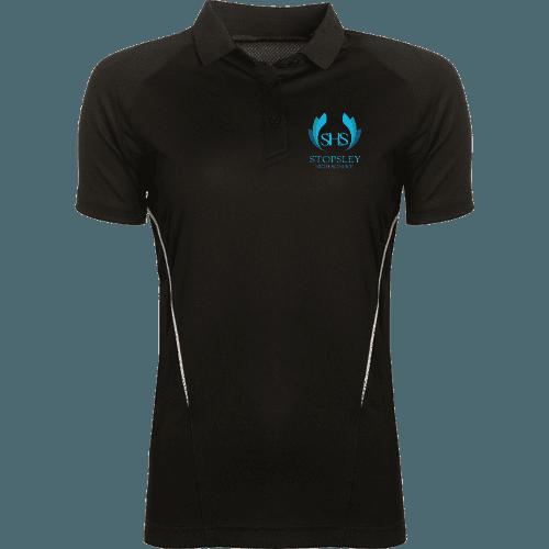 Black PE Polo Shirt (Girls)