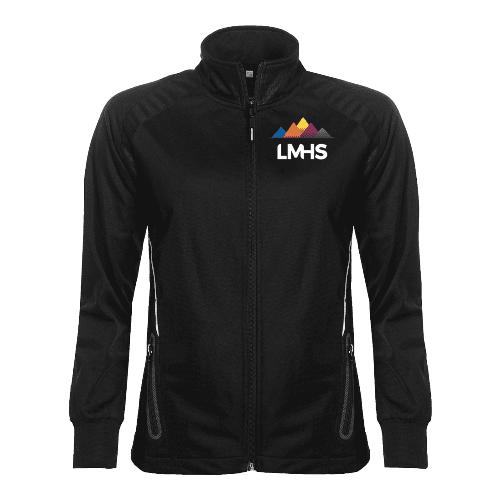 Black Full Zip Sports Jacket (Girls)