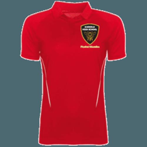 Red PE Polo Shirt (Girls)