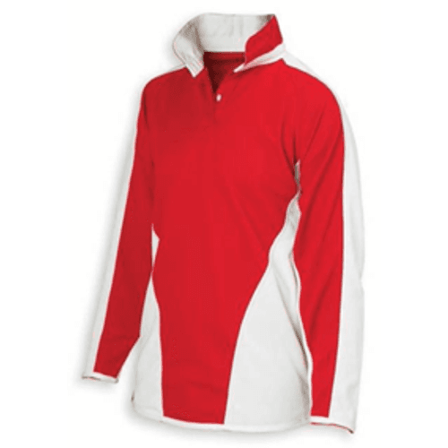 Red and White Reversible Rugby Shirt