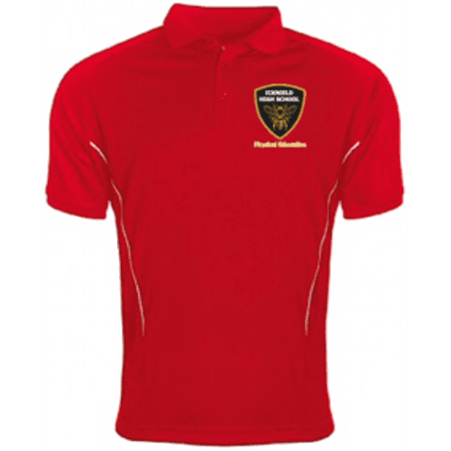 Red PE Polo Shirt (Boys)