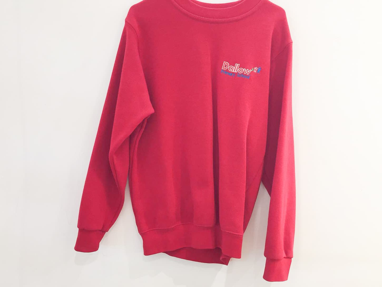 Red Sweatershirt