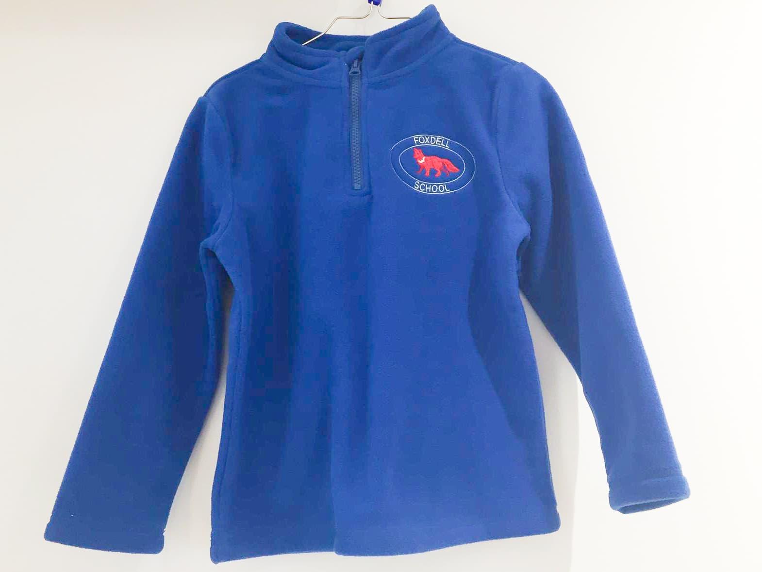 Royal Blue Fleece