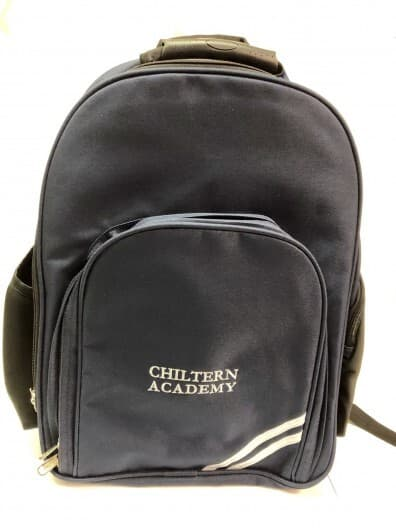 Chiltern Academy Navy Backpack