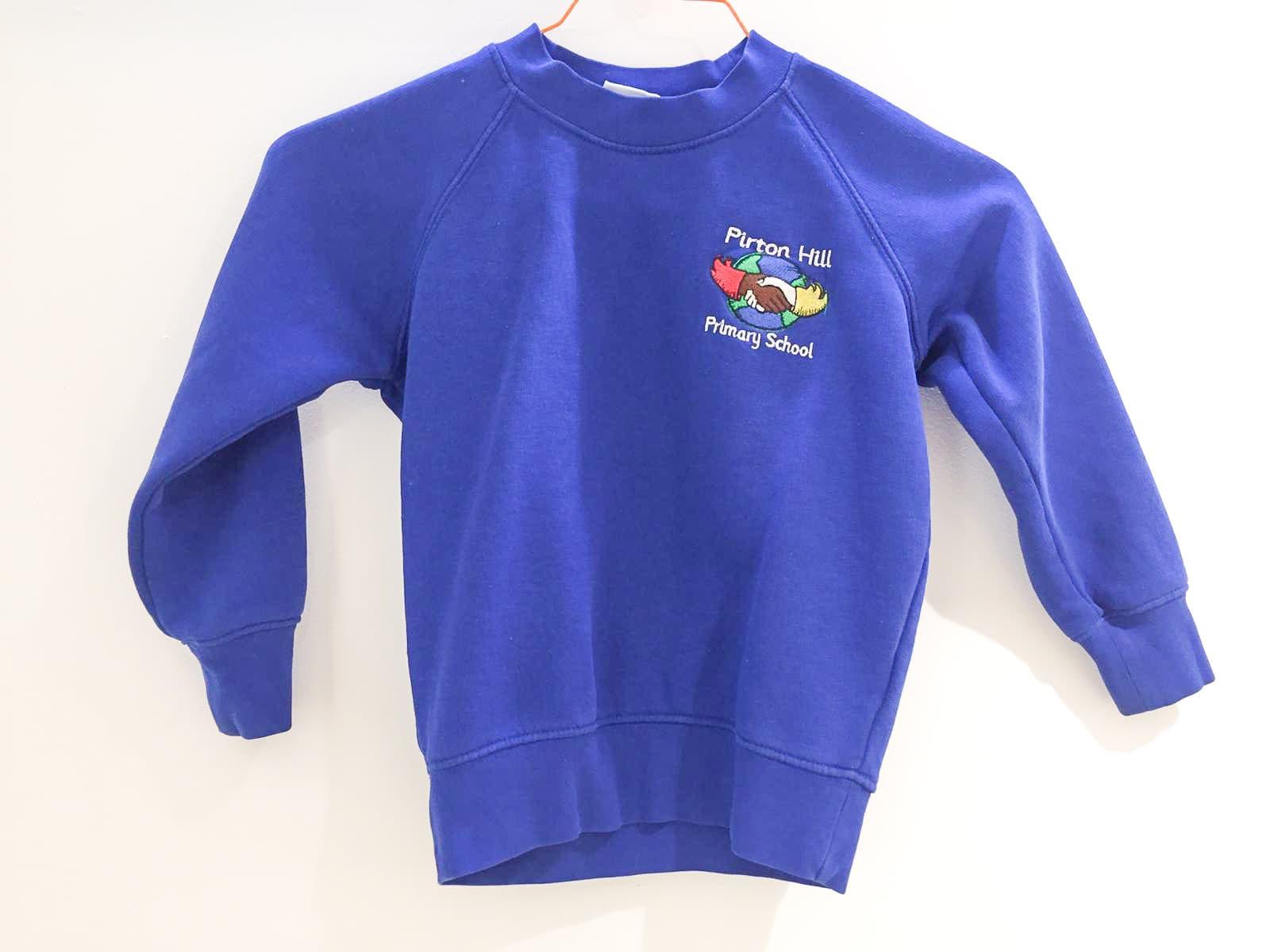 Blue Sweatershirt