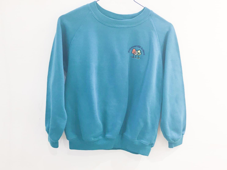 Teal Sweatshirt