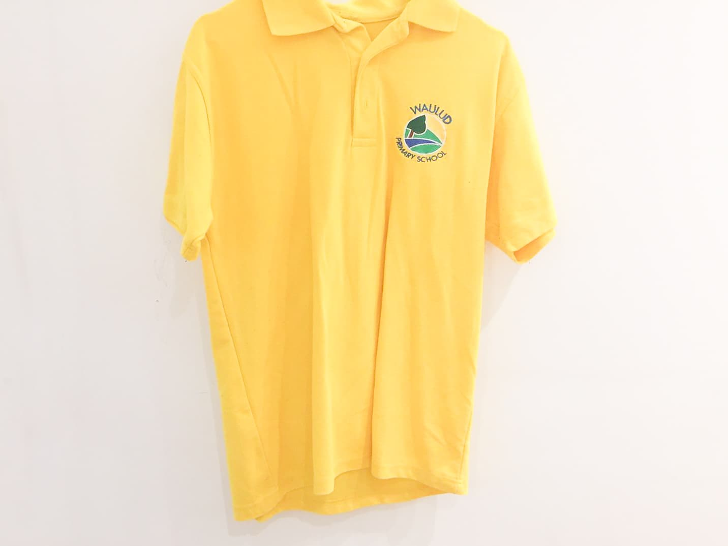 Yellow Polo Shirt - New Logo