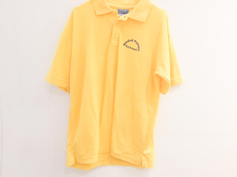 Yellow Polo Shirt - Old Logo
