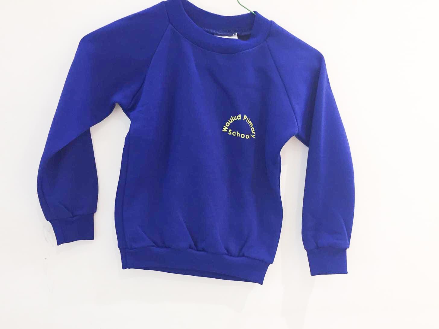 Blue Sweatshirt (old logo)